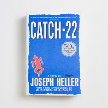 Catch-22 (50th Anniversary Edition) by Joseph Heller, Simon & Schuster, Trade Softcover from A GOOD USED BOOK.  2011 13th Printing Literature Literary Fiction