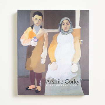 A Retrospective by Arshile Gorky, Philadelphia Museume of Art, Large Trade Softcover from A GOOD USED BOOK. A survivor of the Armenian Genocide, Gorky fled to America where he painted despite  incredible hardship. Inspired by Picasso  and praised by Breton, he was a Surrealist. 2009 No Stated Printing Art Visual Art