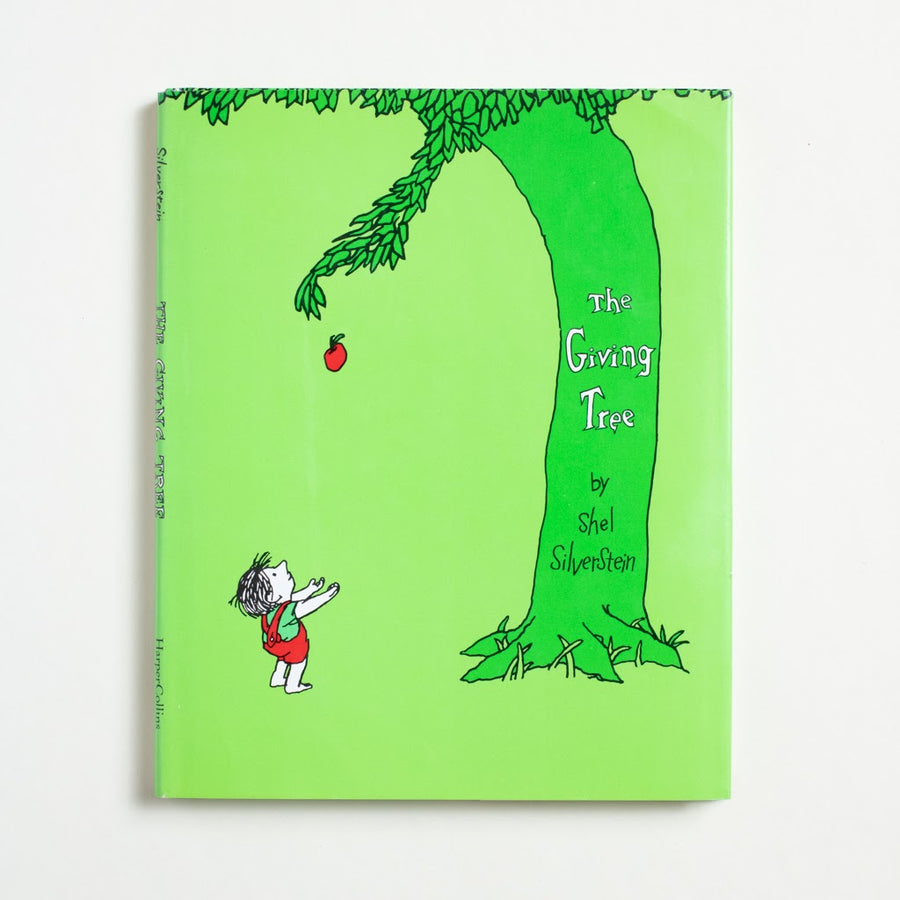 The Giving Tree by Shel Silverstein, HarperCollins, Hardcover w. Dust Jacket from A GOOD USED BOOK.  1990 No Stated Printing Literature