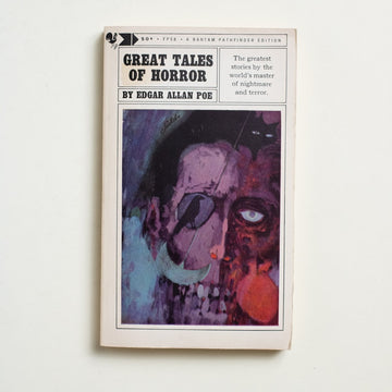 Great Tales of Horror by Edgar Allan Poe, Bantam Books, Paperback from A GOOD USED BOOK. It is October and, if you have not celebrated  with Edgar Allan Poe yet, here is your chance.  1964 5th Printing Literature Short Stories