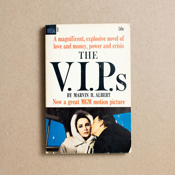 The V.I.P.s by Marvin H. Albert, Dell Publishing, Paperback from A GOOD USED BOOK.
