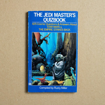 The Jedi Master's Quiz Book by Rusty Miller, Del Ray Books, Paperback from A GOOD USED BOOK.