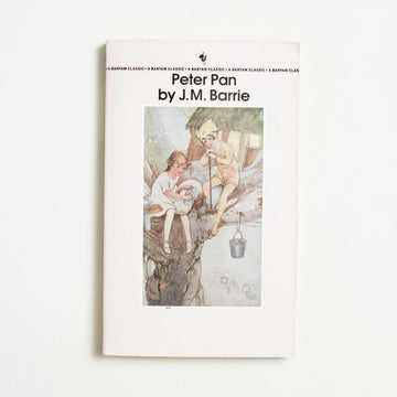 Peter Pan by J.M. Barrie, Bantam Books, Paperback from A GOOD USED BOOK.  1985 14th Printing Literature Childrens