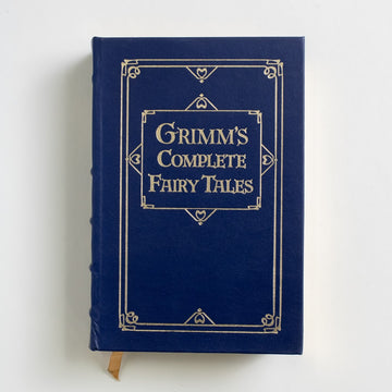 Grimm's Complete Fairy Tales (Barnes and Noble) by Jacob and Wilhelm Grimm, Barnes and Noble Books, Leatherbound Hardcover  from A GOOD USED BOOK.  1993 No Stated Printing Classics