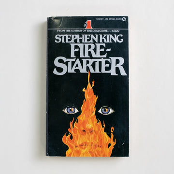 Fire-Starter by Stephen King, Signet Books, Paperback from A GOOD USED BOOK.  1981 2nd Printing Genre