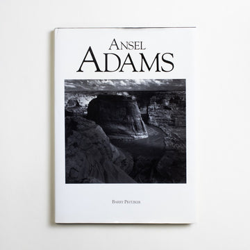 Ansel Adams by Barry Pritzker, Crescent Books, Oversize Hardcover w. Dust Jacket from A GOOD USED BOOK.  1991 2nd Printing Art