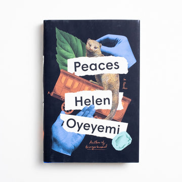 Peaces (Hardcover) by Helen Oyeyemi, Riverhead Books, Hardcover w. Dust Jacket from A GOOD USED BOOK. Oyeyemi is an award-winning Nigerian-British author. She wrote the brilliant