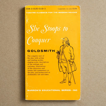 She Stoops to Conquer by Oliver Goldsmith, Barron's Educational Series, Paperback from A GOOD USED BOOK.
