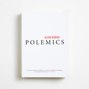 Polemics by Alain Badiou, Verso Books, Trade Softcover from A GOOD USED BOOK.