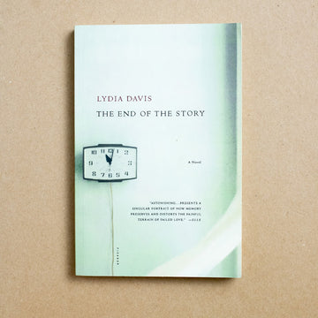 The End of the Story by Lydia Davis, Picador, Trade Softcover from A GOOD USED BOOK.
