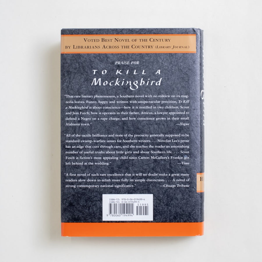 To Kill a Mockingbird (40th Anniversary Edition) by Harper Lee