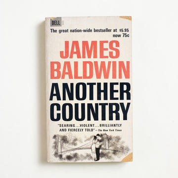 Another Country by James Baldwin, Dell Publishing, Paperback from A GOOD USED BOOK.  1963 5th Printing Literature