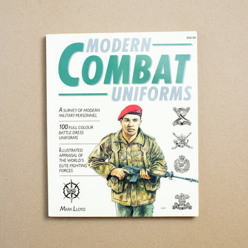Modern Combat Uniforms by Mark Lloyd, Squadron/Signal Publications, Large Trade Softcover from A GOOD USED BOOK.