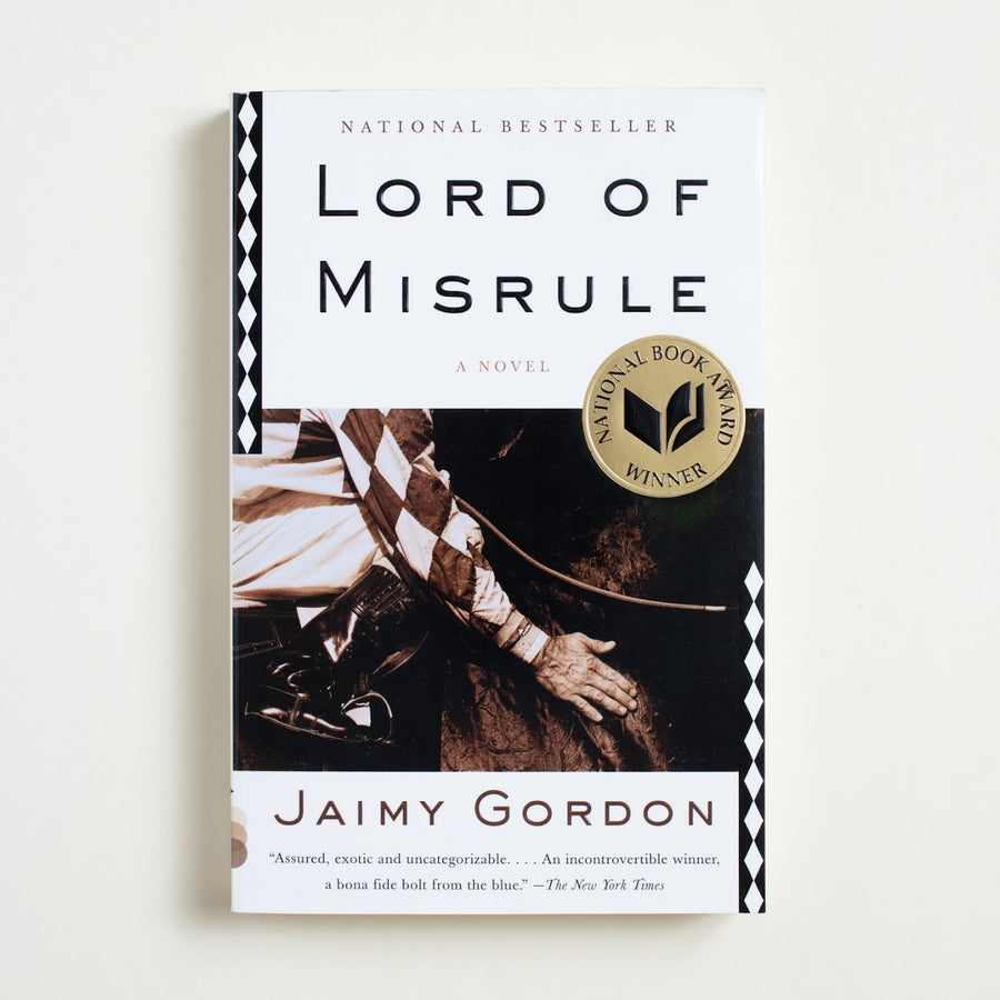 Lord of Misrule by Jaimy Gordon, Vintage Contemporary, Trade Softcover from A GOOD USED BOOK.