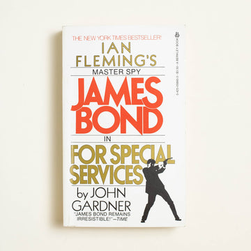 James Bond: For Special Services by John Gardner, Berkley Books, Paperback from A GOOD USED BOOK.