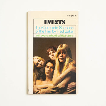 Events by Fred Baker, Grove Press Black Cat Edition, Paperback from A GOOD USED BOOK.