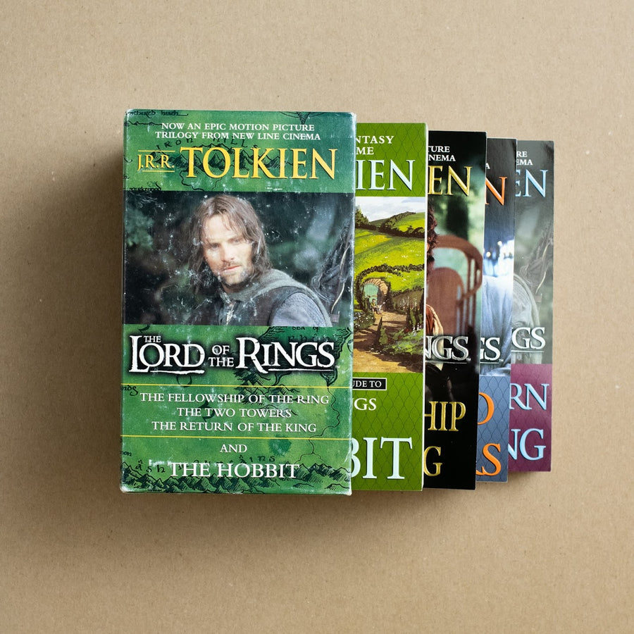 The Lord of the Ring Movie Tie-in Box Set by J.R.R. Tolkien, Ballantine Books, Paperback Set w/ Slipcase from A GOOD USED BOOK.
