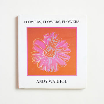 Flowers, Flowers, Flowers by Andy Warhol, Little Brown and Company, Small Hardcover w. Dust Jacket from A GOOD USED BOOK. A bouquet of Warhol's best, this sweet book gathers and binds all of his flowers: the drawn and the painted, the subtle and the striking. 2000 1st Edition, 2nd Printing Art Pop Art
