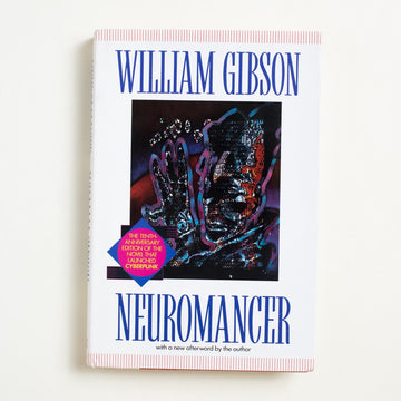 Neuromancer (Hardcover) by William Gibson, Ace Books, Hardcover w. Dust Jacket from A GOOD USED BOOK. An absolute science fiction and cyberpunk  milestone, this was the first novel to win   the Nebula, Hugo, and Philip K. Dick Award. 1994 10th Anniversary Edition Genre