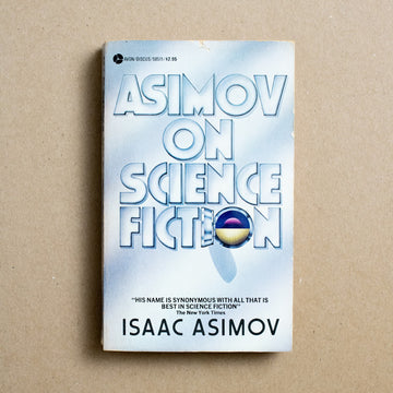 Asimov On Science Fiction by Isaac Asimov, Avon Books, Paperback from A GOOD USED BOOK.