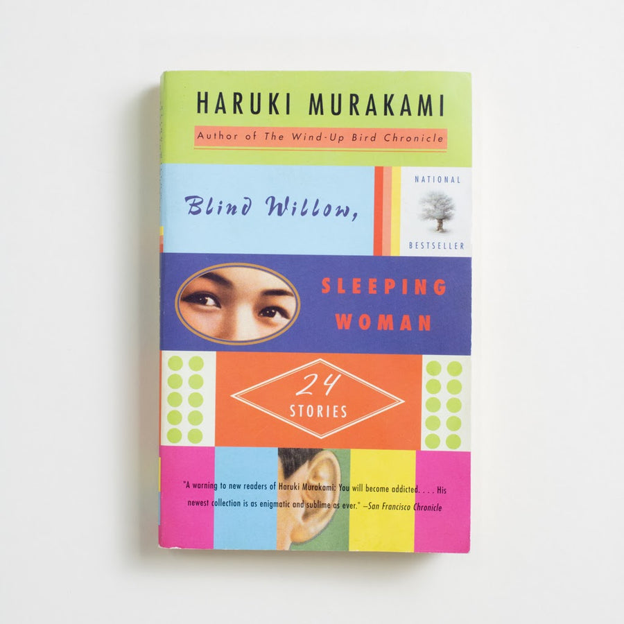 Blind Willow, Sleeping Woman by Haruki Murakami, Vintage International, Trade Softcover from A GOOD USED BOOK.  2006 3rd Printing Literature Japanese Literature