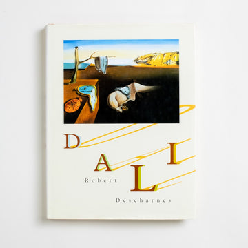 Dali edited by Robert Descharnes, Abradale, Oversize Hardcover w. Dust Jacket from A GOOD USED BOOK. Salvador Dali was expelled from art school when he refused to sit for his final exams and then expelled again from the Surrealists  after his period of fascination with Hitler. 1993 No Stated Printing Art