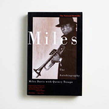 Miles: The Autobiography by Miles Davis, Simon & Schuster, Trade Softcover from A GOOD USED BOOK.  1989 23rd Printing Art Biography