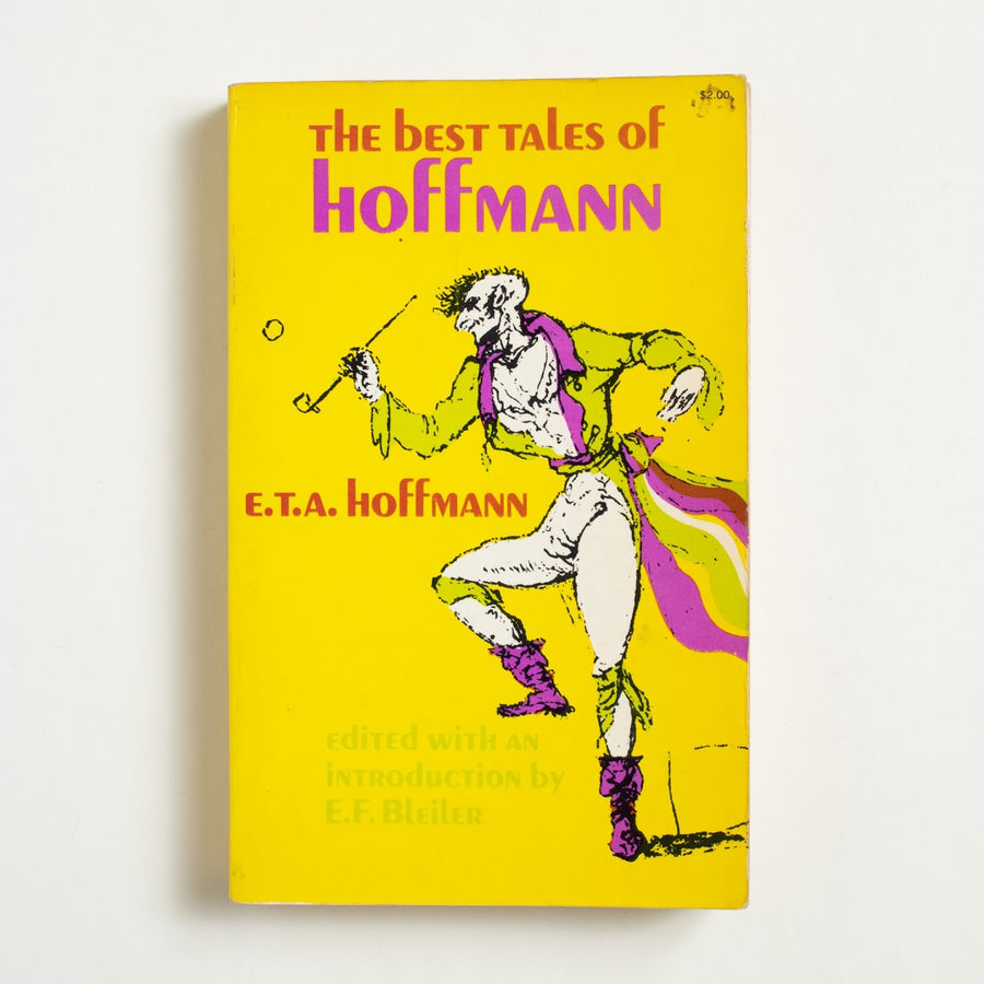 The Best Tales of Hoffman by E.T.A. Hoffmann, Dover Publications, Trade Softcover from A GOOD USED BOOK. Ernest Theodor Amadeus Hoffman was an important figure of the Romantic movement. A writer of gothic fantasy, he would pen the work to inspire Tchaikovsky's