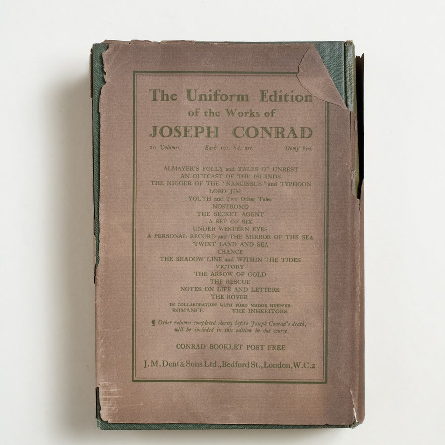Last Essays by Joseph Conrad