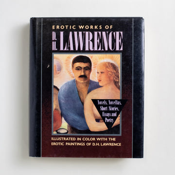 Erotic Works by D.H. Lawrence, Avenel Books, Large Hardcover w. Dust Jacket from A GOOD USED BOOK.  1989 No Stated Printing Literature Erotic Literature