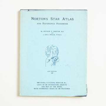 Norton's Star Atlas and Reference Handbook by Arthur P. Norton, Gall and Ingles, Hardcover w. Dust Jacket from A GOOD USED BOOK.  1966 15th Printing Culture Nature