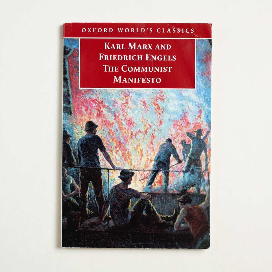 The Communist Manifesto (Trade) by Karl Marx, Oxford University Press, Trade Softcover from A GOOD USED BOOK.