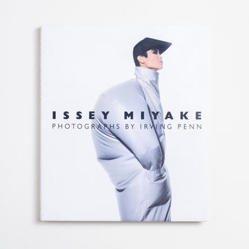 Issey Miyake: Photographs by Irving Penn, New York Graphic Society, Oversize Hardcover w. Dust Jacket from A GOOD USED BOOK. Miyake was the Japanese designer who reinvented  pleats, but he was also the man who made all of  Steve Job's signature black turtleneck sweaters.  1988 1st Edition Art