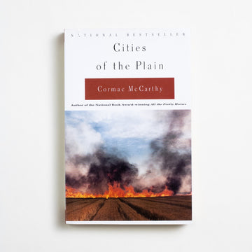 Cities of the Plain by Cormac McCarthy, Vintage Books, Trade Softcover from A GOOD USED BOOK.  1999 10th Printing Literature Border Trilogy