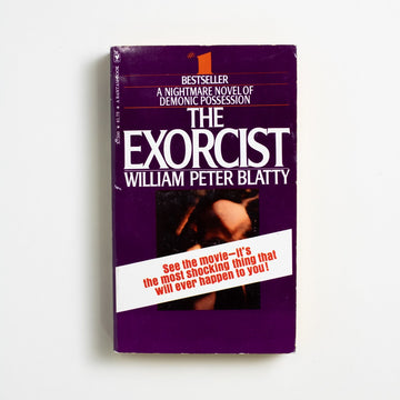 The Exorcist by William Peter Blatty, Bantam Books, Paperback from A GOOD USED BOOK.  1974 17th Printing Genre