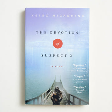 The Devotion of Suspect X by Keigo Higashino, Minotaur Books, Trade Softcover from A GOOD USED BOOK.  2011 No Stated Printing Literature
