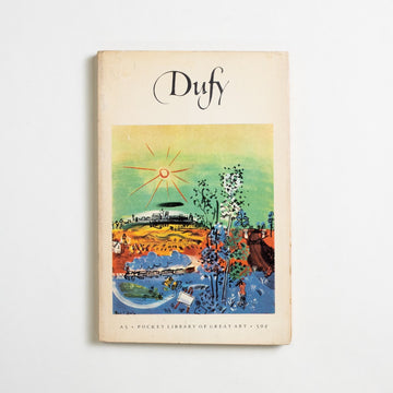 Dufy by Alfred Werner, Harry N. Abrams, Paperback from A GOOD USED BOOK. Buried near Matisse in a cemetary outside of  Nice, Raoul Dufy was a neighbor to all of the great painters of his time. Open and colorful,  his illustrations have decorated the works of Apollinaire and Mallarme... even Andre Gide. 1953 No Stated Printing Art Raoul Dufy
