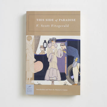 This Side of Paradise (Barnes and Noble) by F. Scott Fitzgerald, Barnes and Noble Books, Trade Softcover from A GOOD USED BOOK.  2005 2nd Printing Literature