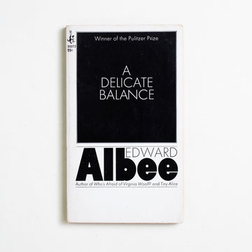 A Delicate Balance by Edward Albee, Pocket Books, Paperback from A GOOD USED BOOK.  1967 1st Printing Literature