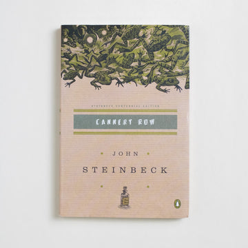 Cannery Row (Penguin Trade) by John Steinbeck, Penguin Books, Trade Softcover from A GOOD USED BOOK.  2002 21st Printing Literature