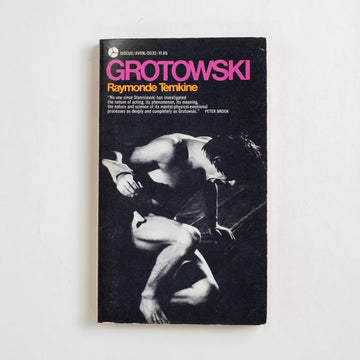 Grotowski by Raymonde Temkine, Avon Books, Paperback from A GOOD USED BOOK. No one since Stanislavski has investigated the nature of acting, its phenomenon, its meaning... its mental-physical- emotional process as deeply and completely as Grotowski. 1972 1st Printing Art Jerzy Grotowski