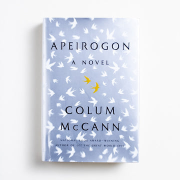 Apeirogon by Colum McCann, Random House Books, Hardcover w. Dust Jacket from A GOOD USED BOOK.  2020 3rd Printing Literature