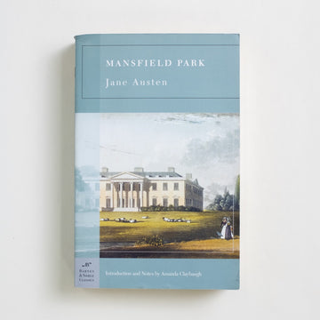 Mansfield Park (Barnes and Noble) by Jane Austen, Barnes and Noble Books, Trade Softcover from A GOOD USED BOOK.  2004 10th Printing Classics