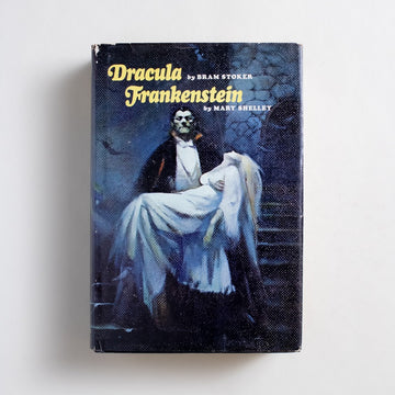 Dracula & Frankenstein by Bram Stoker and Mary Shelley, Nelson Doubleday, Hardcover w. Dust Jacket from A GOOD USED BOOK.  1987 Book Club Edition Classics Horror