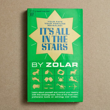 It's All in the Stars by Zolar, Crest Books, Paperback from A GOOD USED BOOK.