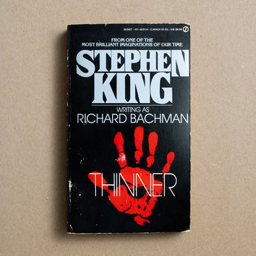 Thinner by Stephen King, Signet Books, Paperback from A GOOD USED BOOK.