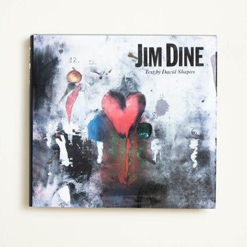 Jim Dine by David Shapiro, Harry N. Abrams, Oversize Hardcover w. Dust Jacket from A GOOD USED BOOK.