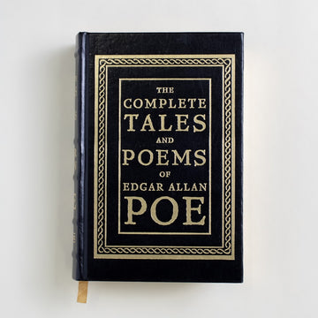 The Complete Tales and Poems of Edgar Allan Poe by Edgar Allan Poe, Barnes and Noble Books, Large Hardcover from A GOOD USED BOOK.  1992 17th Printing Classics Poetry, Anthology, Horror