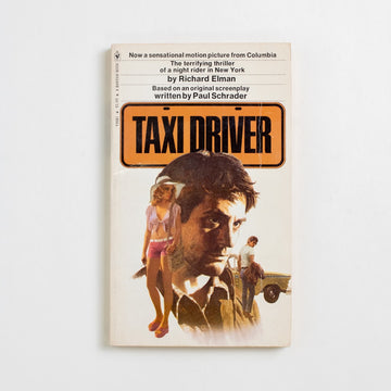 "Taxi Driver by Richard Elman, Bantam Books, Paperback from A GOOD USED BOOK. Schrader's screenplay-turned-novel is often compared  to Fyodor Dostoevsky's existential masterpiece ""Notes  from. the Underground""... only with a few more guns. 1976 No Stated Printing Genre"