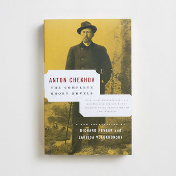 The Complete Short Novels by Anton Chekhov, Vintage Classics, Trade Softcover from A GOOD USED BOOK. There are many names in the hat for